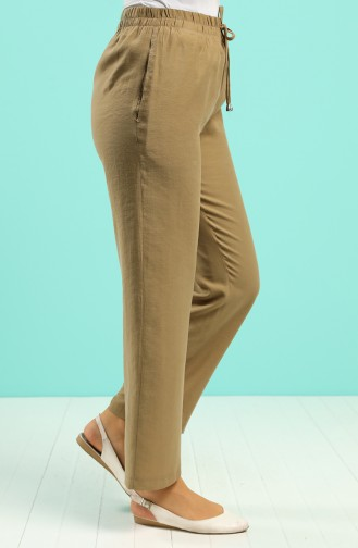Oil Green Pants 0171-01