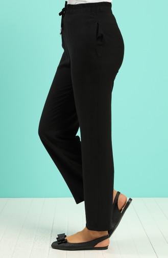 Pantalon Noir 0171-08