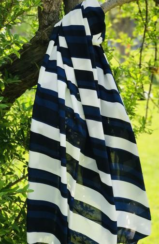 Châle Bleu Marine 61510-01