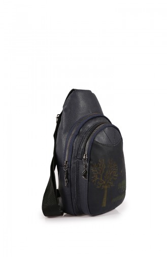 Navy Blue Back Pack 27Z-02