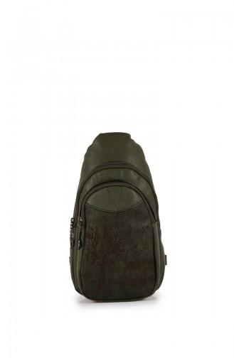 Khaki Back Pack 27Z-03