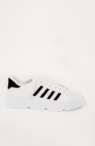 Chaussures Baskets Blanc 300-12-1