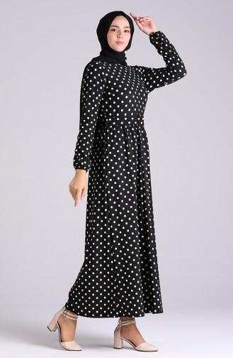 فستان أسود 0743G-01