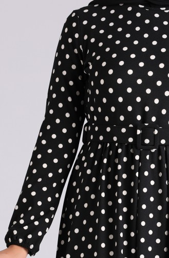 Robe Hijab Noir 0743G-01