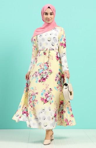 Gelb Hijap Kleider 20Y3034302-09