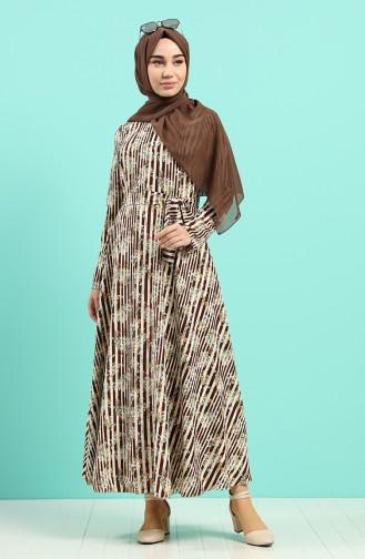 Robe Hijab Beige 20Y3034302-15