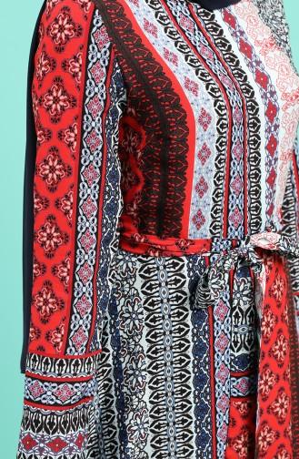 فستان أحمر 20Y3034302-18