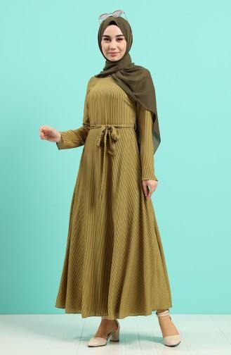 Robe Hijab Jaune 20Y3034302-22