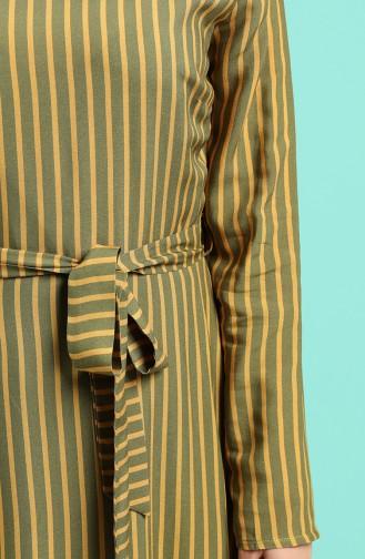 Grün Hijap Kleider 20Y3034302-24
