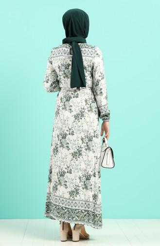 Robe Hijab Khaki 12047-01
