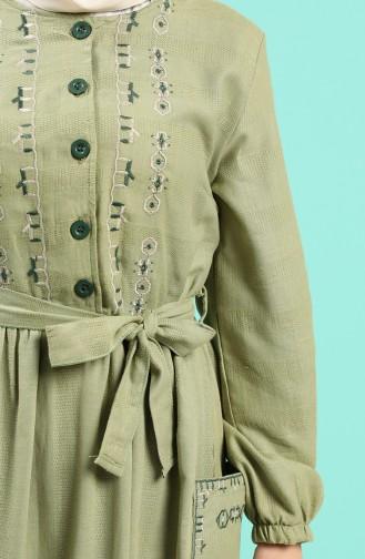 Robe Hijab Khaki 8005-02
