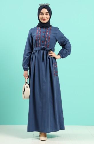 Indigo Hijap Kleider 8005-07