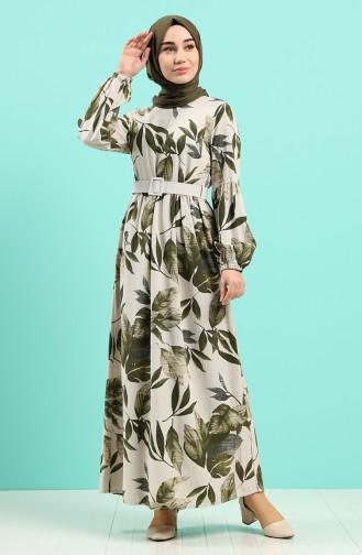 Robe Hijab Vert 8087-02