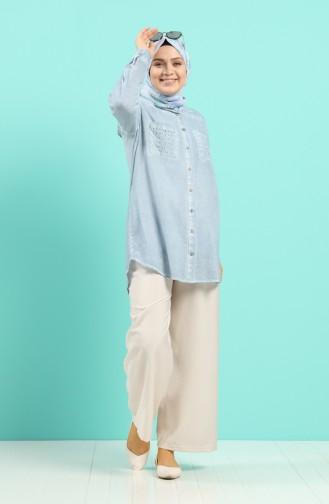 Tunique Bleu 1138-02