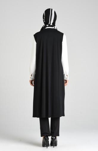 Gilet Sans Manches Noir 1316-01