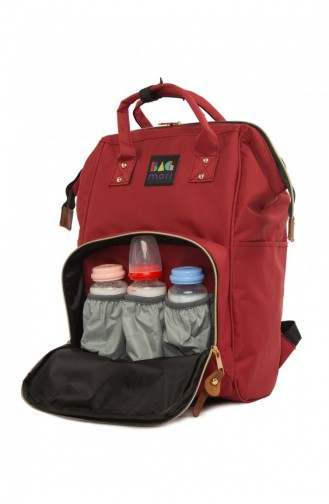 Claret red Baby Care Bag 87001900023262