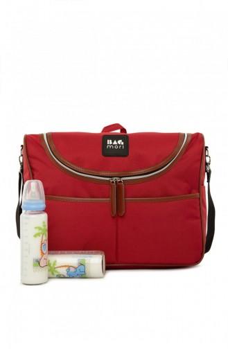 Weinrot Baby Pflegetasche 87001900050992