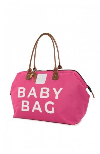 حقيبة رعاية الطفل فوشيا 87001900049437