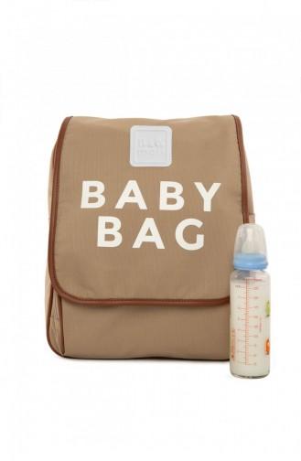 حقيبة رعاية الطفل بني مائل للرمادي 87001900057773