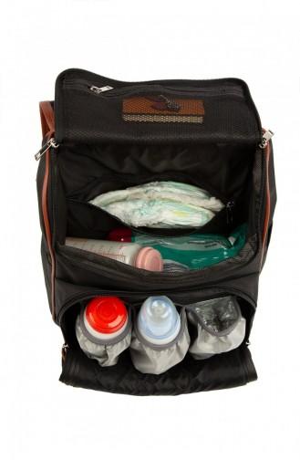 حقيبة رعاية الطفل أسود 87001900057755