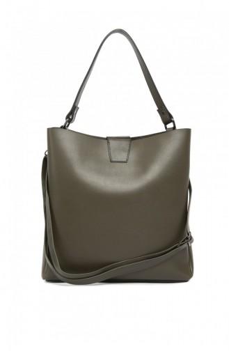 Khaki Shoulder Bag 87001900029220