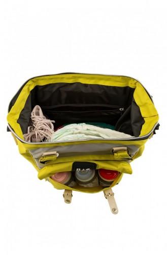 حقيبة رعاية الطفل أصفر 87001900052042