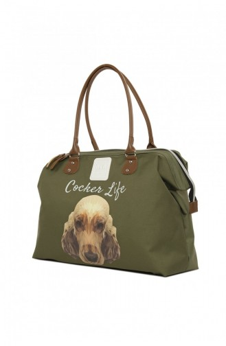 Khaki Shoulder Bag 87001900037131