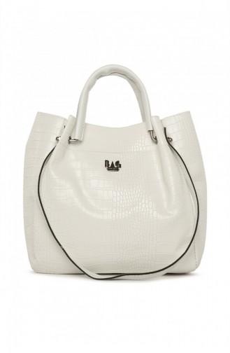 حقيبة كتف أبيض 87001900050257