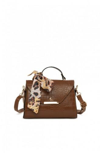 Brown Shoulder Bag 87001900056303