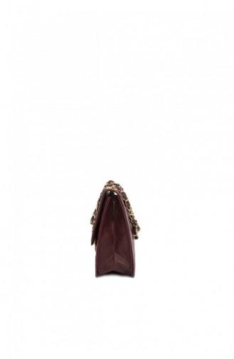حقيبة كتف أحمر كلاريت 87001900026588
