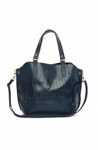 حقيبة كتف أزرق كحلي 87001900048313