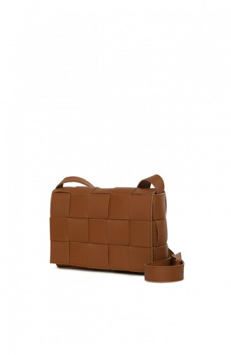Tobacco Brown Shoulder Bag 87001900052112