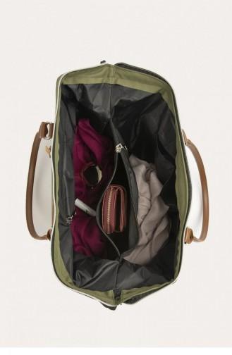 حقيبة كتف كاكي 87001900037034