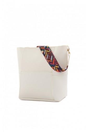 حقيبة كتف أبيض 87001900039847