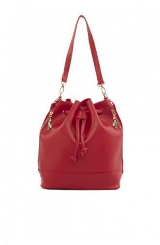 حقيبة كتف أحمر 87001900039476