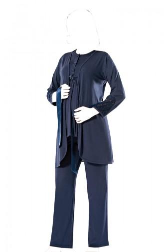 Pyjama Bleu Marine 5573-2
