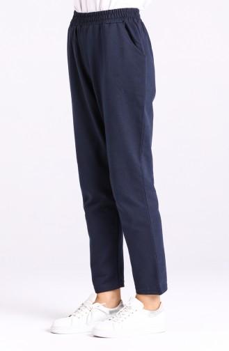 Pantalon Sport Bleu Marine 3100A-05