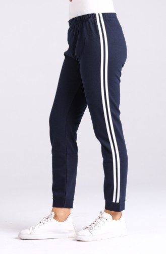Navy Blue Sweatpants 3200-02