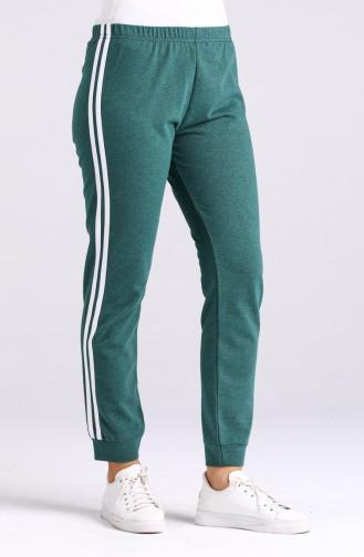Pantalon Sport Vert emeraude 3200-04