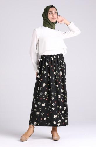 Black Skirt 1297-02
