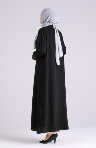 Abayas Noir 6243-01
