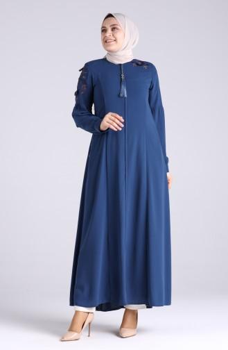 Indigo Abaya 4807-01