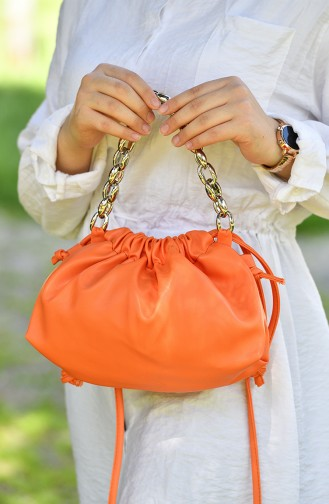Sac D`épaule Orange 01-05
