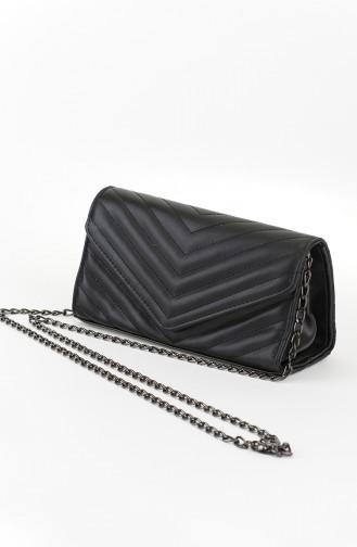 حقيبة كتف أسود 21-01