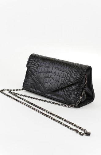 Black Shoulder Bag 21-03
