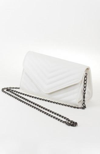 White Shoulder Bag 21-05