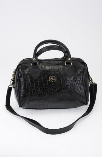 Black Shoulder Bag 23-04
