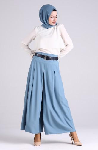 Jupe-Pantalon Bleu 6436-08
