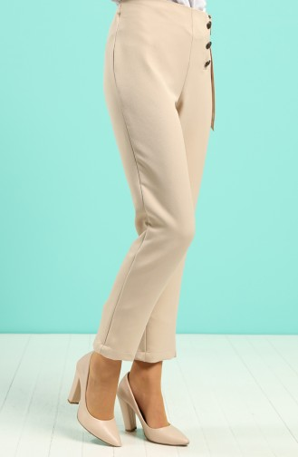 Pantalon Beige 9000-03
