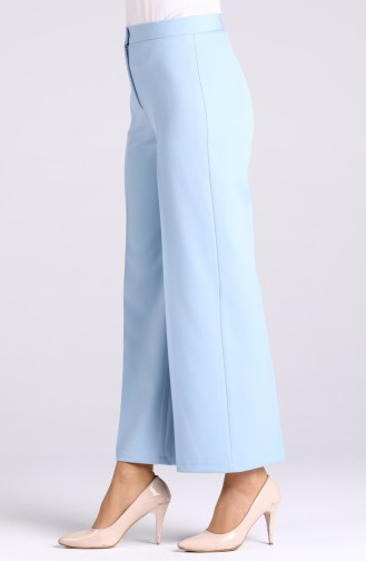 Flared Summer Trousers 1108-10 Bebe Blue 1108-10